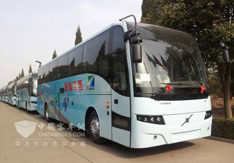 13 VOLVO 9300 Buses Delivered to HZXH Highway Transport Company-news