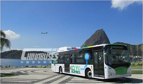 First Zero-Emissions All-Electric BYD Bus Launches in Brazil