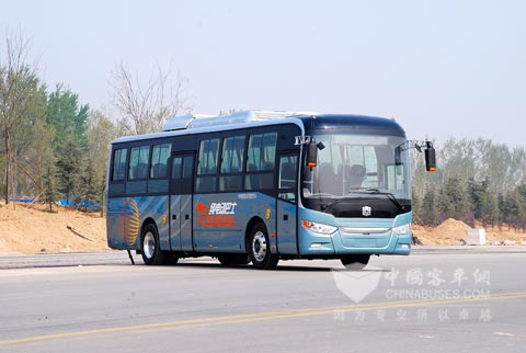 Zhongtong electric bus LCK6108EVG