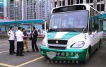 Howo 6-meter Mini Electric Bus Put on Trial Operation in Qingdao