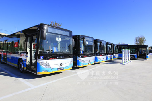 Foton Takes a Leading Role in Electric Bus Market