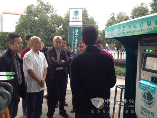 Shenzhen Bus Group Visits and Investigates Hengtong New Energy Bus