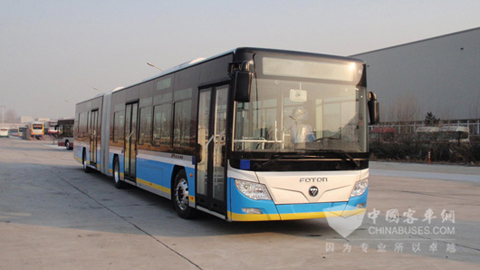 18-meter Foton AUV Pure Electric Bus