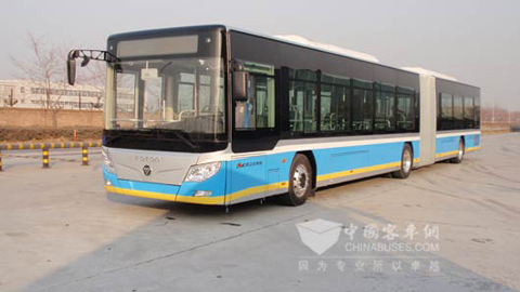 18-meter Foton AUV Pure Electric Bus2
