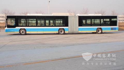 the largest pure electric bus nationwide