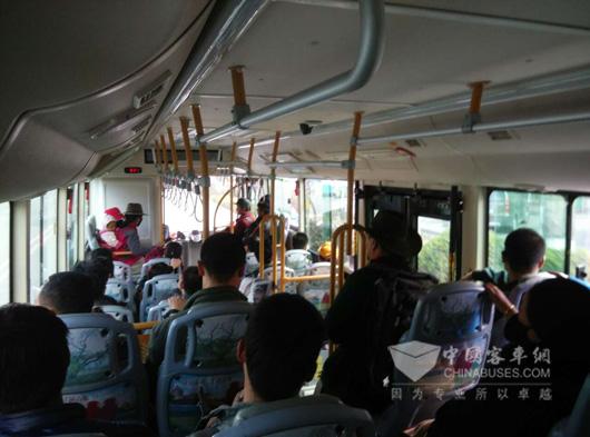 Hengtong Won Lhasa Procurement of 35 Plug-in Hybrid Buses