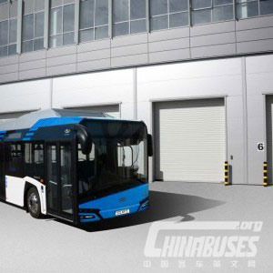 PREMIERES OF NEW SOLARIS URBINO 12 ELECTRIC AND NEW URBINO LE AT BUSWORLD KORTRIJK