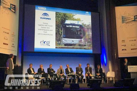 Yutong News  Conference at Busworld Kortrijk 2015