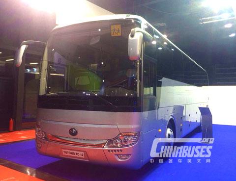 Yutong TC 12 at Busworld Kortrijk 2015