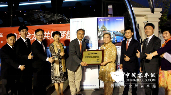 King Long Continues to Strengthen its Presence in Thailand