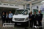 Nanjing Golden Dragon Skywell Electric Light Bus Enters Hong Kong