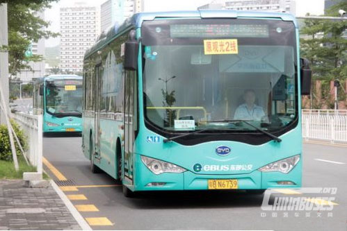 Shenzhen Targets to Go 100% Electric Buses by 2017