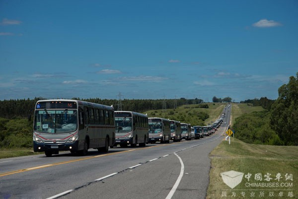 Uruguayan Transportation Fleet Now 100% Equipped with Allison Transmissions
