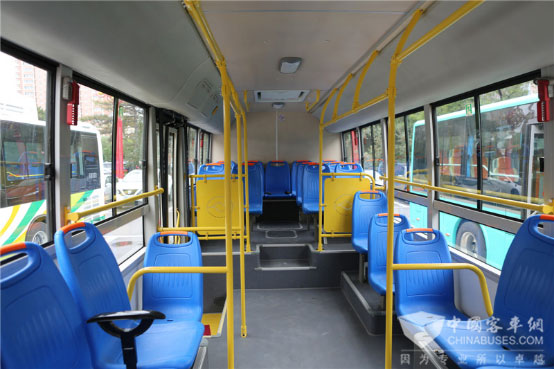 135 Units Huanghai Hybrid Buses Went into Operation in Dandong