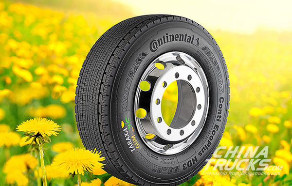 Continental to Show Dandelion Rubber Bus Tyres