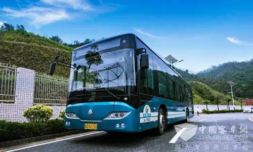 HOWO New Energy Buses Gain Positive Appraisal in Trial Operation in Panzhihua