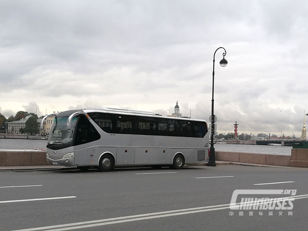 Yutong Successfully Accomplished its Tour in Russia