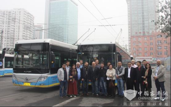 UITP Experts Speak Highly of Foton AUV Bi-Power Trolley Buses