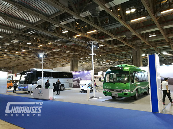 Golden Dragon Attends Macau 2016 Auto Expo