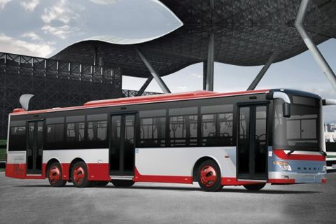 Ankai Bus HFF6140G06D
