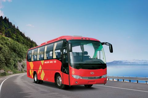 Higer Bus KLQ6920+YC6J220-30 (220HP,China III) ISB 6.7 E5 250 (250HP, China V) engine