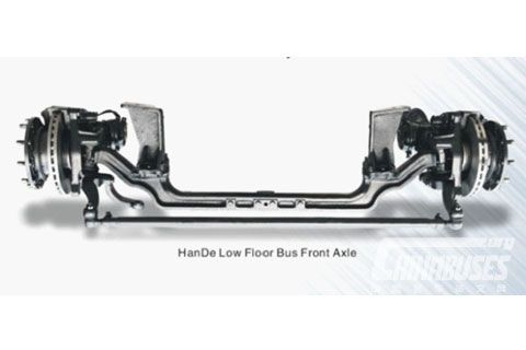 Hande Low Floor Bus Front Axle