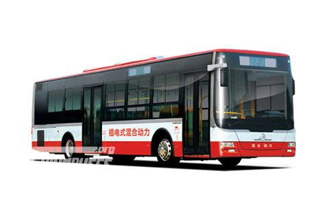 Golden Dragon Bus XML6125 Hybrid Series