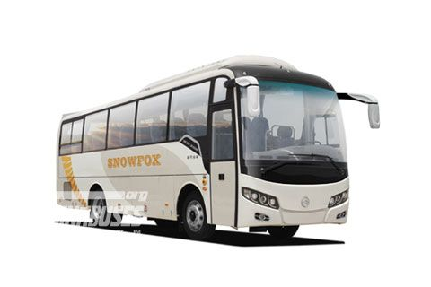 Golden Dragon Bus XML6957 Snow Fox Series