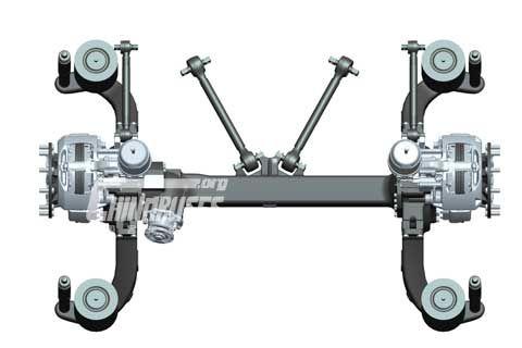 Kenway driven axle BRA81DC80