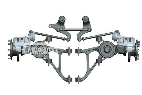 Kenway independent front axle BFA 80I