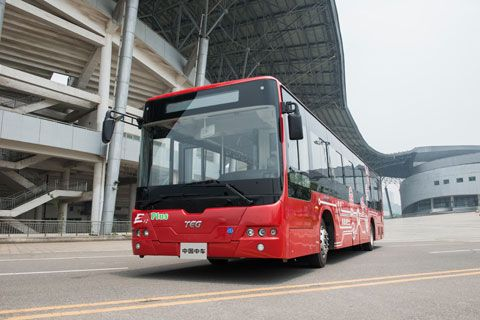 CRRC Bus 12-Meter Electric Vehicle