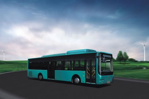 CRRC Plug-in City Bus