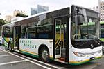 Huanghai Bus DD6120CHEV1N natural gas/hybrid city bus