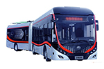 Yutong Bus ZK6180BEVG1 articulated electric city bus