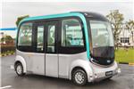 Skywell autonomous driving touring bus